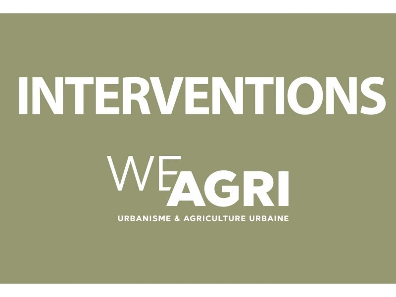 We Agri - Interventions